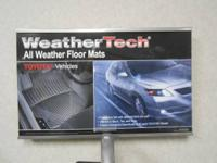 LARGE Variety of WeatherTech products that were ordered