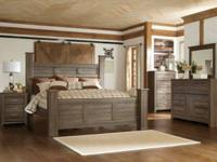 B251 Bedroom Collection Queen Bed: $299 Dresser: $349.