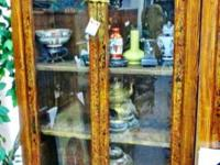 Asian Images Special Sale Tibetan glass display cabinet
