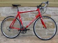 For sale we have a 2005 Specialized Allez Elite 18.