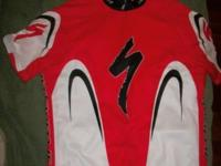 Specialized Bike Jersey Red /White /Black Almost like