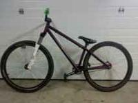This is a 2009 specialized p2 cromo hard tail genuine