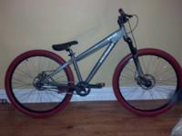 Specialized P2 single speed dirt jumper frame.