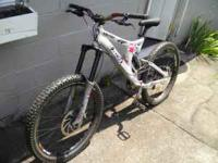 We've got a specialized downhill Big Hit 3 for sale.
