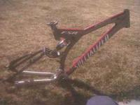 nice frame with for floar rear shock xt front derailer