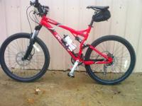 Like new, 2008 model, large men's mountain bike. Large