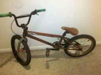 Specialized Fuse BMX bike, a little older but still a