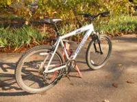 Man's Specialized Hard Rock bicycle. Purchased new from