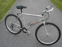 Good condition trail/city bike with a cromoly frame,