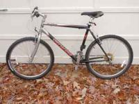 Great bike in good condition. Only went mt. biking once