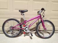 For sale: Specialized Hotrock 16 bicycle. It is in