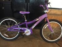 EUC Girls 20 inch Specialized Hotrock bicycle.
