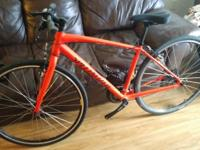 Specialized bike, size small, its a hybrid bike brand