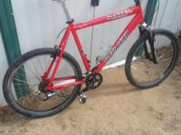 Regular price is $1,200.00, oversized frame, Shimano