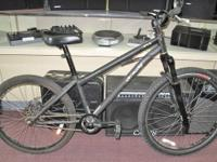 Specialized P1 Dirt Jumper Bicycle. This bike is used
