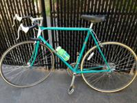 "Specialized Sirrus road bike.  23""  Great teal colored"