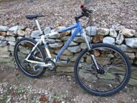 "17"" frame Specialized RockHopper MTB, with Marzocchi"