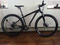 Specialized Rockhopper, bought last summer. Switching