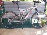 Full Suspension Specialized Brand new disc brakes, Rear