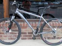 "Specialized Rockhopper  19"" frame, 26"" wheels, 21"