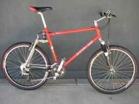 Specialized S-Works dual suspension mountain bike. 1995