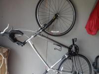 Specialized Sequoia road bike, 58cm seat tube, silver