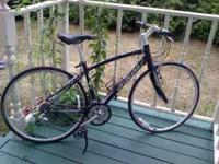 Road bike for sale. Used only 4 times. Paid $589.00