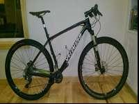 This is a Specialized Stumpjumper Comp Carbon difficult