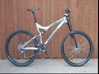 "This is a huge (19"") Specialized Stumpjumper FSR Expert"
