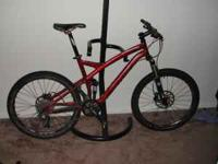 I'm selling my 2009 Specialized Stumpjumper Elite FSR,