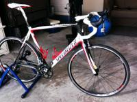 Specialized Tarmac SL SRAM Force shifters, derailleurs,
