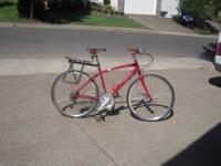 2011 Women Specific Red Bike. Medium Frame. 27 gears