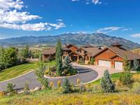 Spectacular, custom, luxury home perched high atop Fox