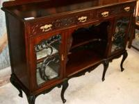 This spectacular mahogany buffet arrived in on our