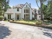 Exceptional custom-built traditional located on one of