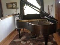 Early 1900's Kurtzmann Baby grand piano. Absolutely