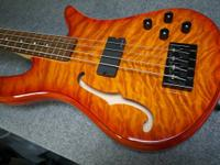 This is a near new Spector Spectorcore 4 bass. No nicks