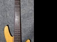 Semi-hollow SpectorCore Basswood body with F-Hole,