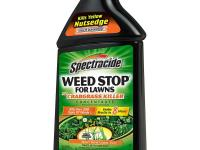 Use the Spectracide 32 oz. Concentrate Weed Stop for