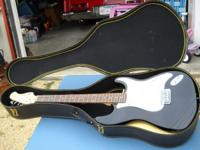 This Spectrum Electric Guitar comes with new strings