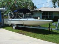 Speed Boat Baja 20' long with a 200 HP motor (Mercury)