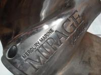 This is a Mercury Marine Mirage --- Prop perfect shape