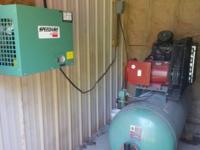Speedaire 120 Gallon Air Compressor with Dryer.