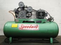 SPEEDAIRE Industrial Duty Air Compressor 10HP 3