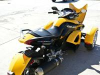can-Am SPYDER It is in excellent condition, has been
