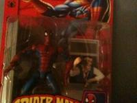 Selling a lot of 8 Spider-Man figures . They are all