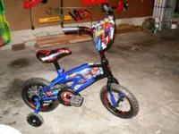 Street Flyers 12 inch Spider-Man BMX Bike - Boys -