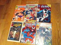 Venom #1   The Amazing Spiderman #362 (second