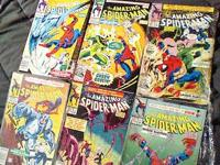 Bulk  368 to 373 Amazing Spider-man (spider slayers)