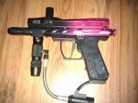 I have a spider pilot Paintball gun that is just a year